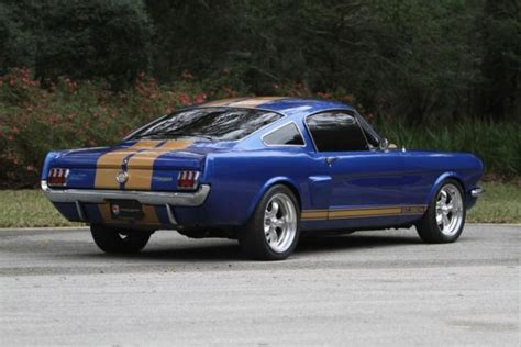 restomod mustang fastback for sale 1965 ford mustang fastback restomod