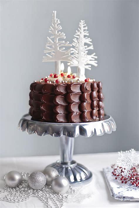 decorar tarta navidad tarta de chocolate para navidad