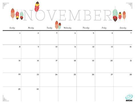 printable calendar november 2015 cute november 2015 calendar pretty calendar template 2016