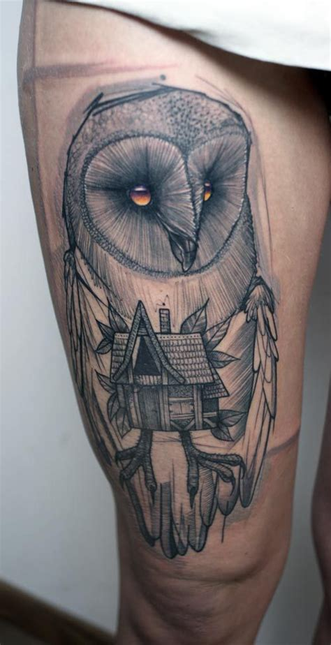 barn owl tattoo designs 211 best tattoo owls images on pinterest owls tattoo
