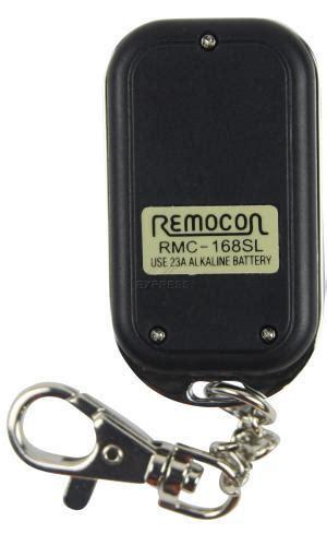 programar mando a distancia garaje mando remocon rmc168sl mando de garaje