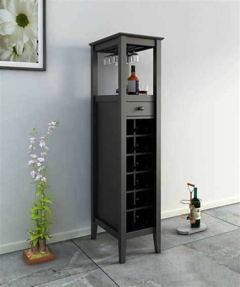 tall dining room cabinet 12 bottles modern home slim tall storage wine bar cabinet