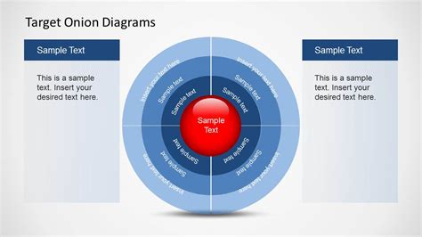 Target Onion Diagram For Powerpoint Slidemodel Walmart Powerpoint Template 2
