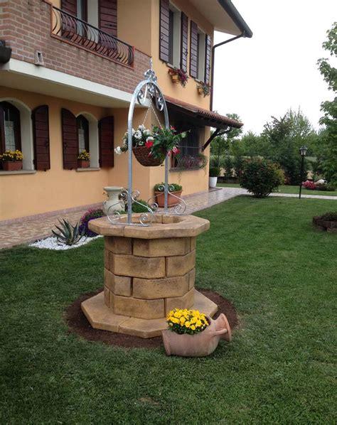pozzi da giardino pozzi da giardino pergole autoportanti tavoli e panchine