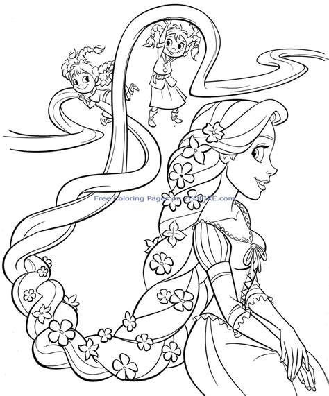 Baby Princess Coloring Pages To Download And Print For Free Princess Colouring Pages Free Printable