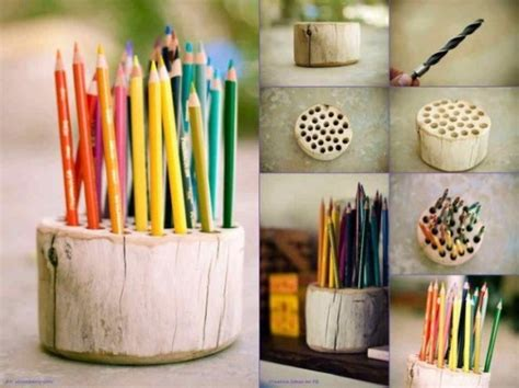 Handmade Tips - diy log ideas home design garden architecture