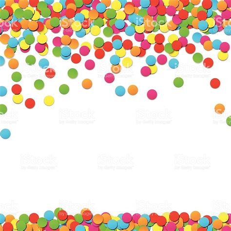 festa clipart confetti celebration background stock vector more
