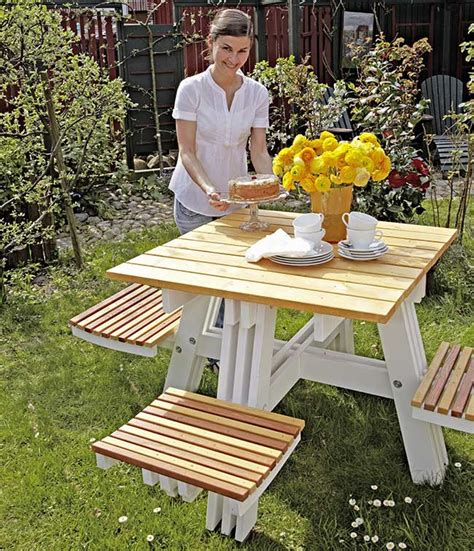tavolo da esterno fai da te arredo giardino fai da te come costruire una panca e