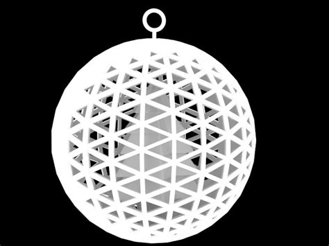printable ornaments 3d attractor christmas ornament 3d model 3d printable stl