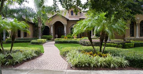 landscaping ideas florida homes florida landscape professionals 407 467 8200 gardening