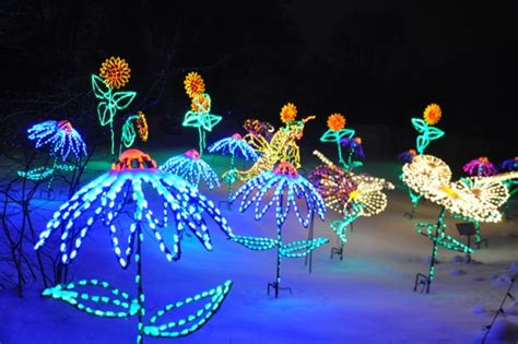 Garden Of Lights Botanical Gardens Wps Garden Of Lights All Lit Up Photomojo Fox11online