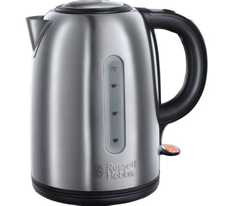stainless steel kettle buy hobbs snowdon 20441 jug kettle stainless steel free delivery currys