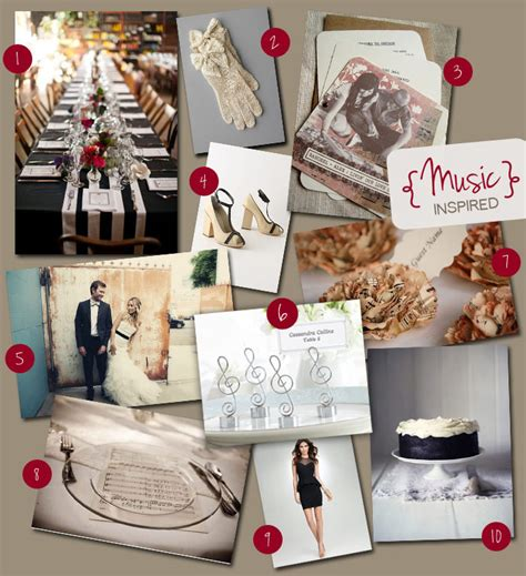 themes music com tbdress blog music themed wedding is inspiring and fun