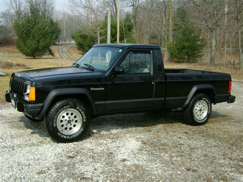 jeep comanche 1989 jeep comanche eliminator standard cab 2 door 4