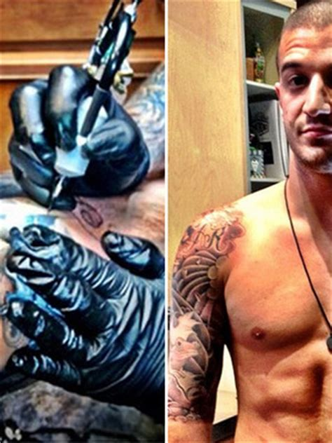 mark ballas tattoos markballas toofab