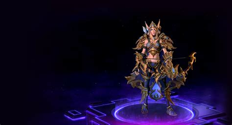 the of a heroes of the sylvanas skins blizzard