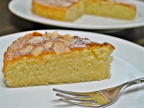 Mamoy Almond Almond Home Made happy home baking almond cake