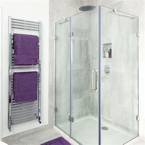 shower room with purple accessories housetohome co uk