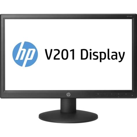 Cek Monitor Led hp v201 led 19 45 quot monitor