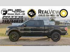RealView - Leveled 2014 Ford F-150 w/ 20x9 Fuel Offroad ... Leveled F150