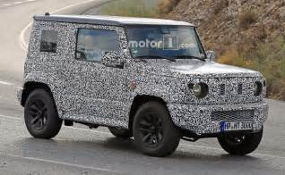 Suzuki Jimny New Next Suzuki Jimny Spotted Testing Alongside Current