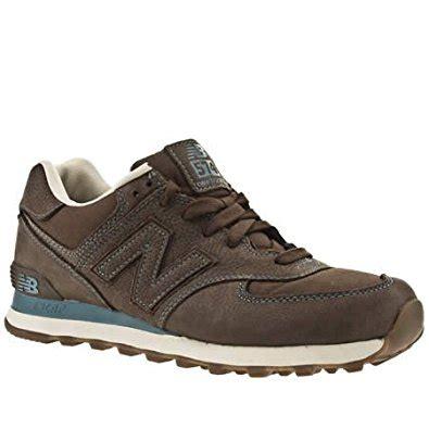 amazon customer reviews new balance mens 574 new balance 574 10 uk dark brown leather amazon co