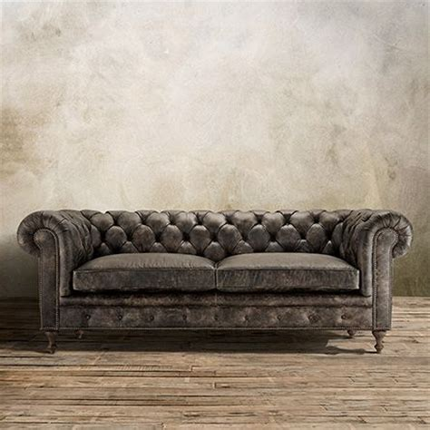 arhaus leather sofa 1000 ideas about tufted leather sofa on