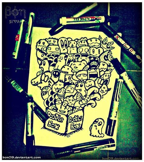 doodle drawing boxes doodle box by bon09 on deviantart