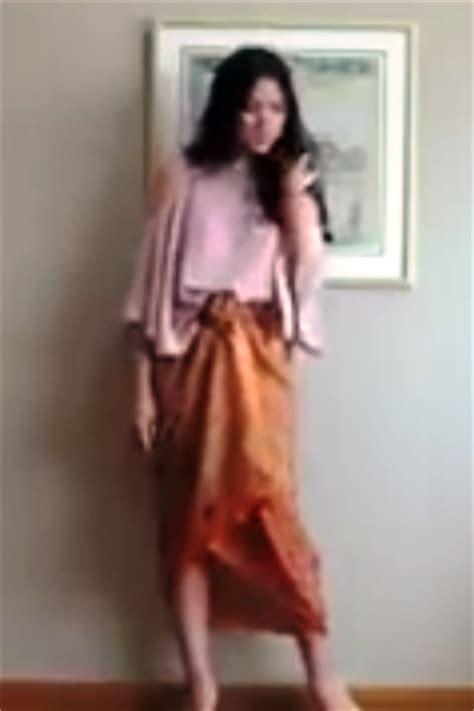 Gendong Lilit tutorial 4 cara kain batik menjadi rok tanpa dijahit ide