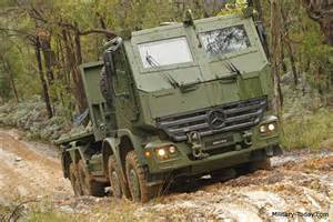Mercedes Army Truck Mercedes Actros Heavy Utility Truck Today