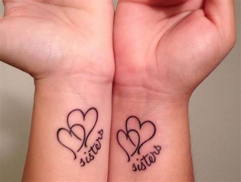 sister heart tattoo designs 38 best images about tattoos on family