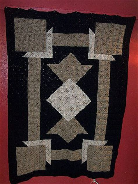quilt pattern art deco pin by linda huff on crochet patchwork quilt afghans