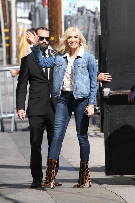 Gwen Stefani On Jimmy Kimmel by Gwen Stefani At Jimmy Kimmel Live 04 18 2018 Hawtcelebs