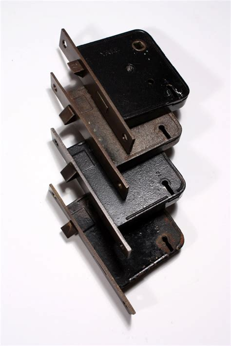 Alby Set 3 In 1 eight complete antique door hardware sets alby by
