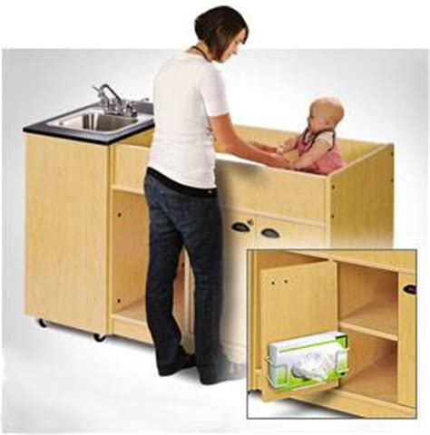 portable sinks for daycares object moved