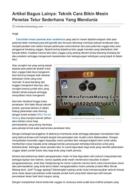artikel membuat mesin penetas telur sederhana cara bikin mesin penetas telur sederhana no hp 0822