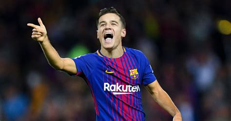 barcelona coutinho how barcelona could line up with philippe coutinho after
