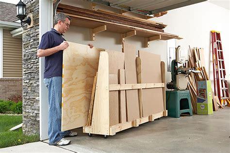 Wood Plans Storage Rack