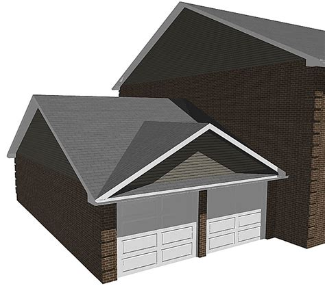 false roof house plans gable roofing a frame roof see image also known as