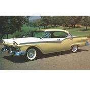 1957 Ford Styling Innovations