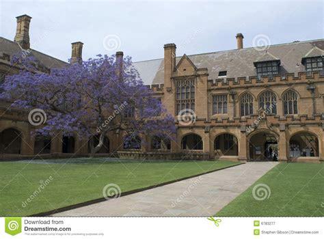Sydney Uni Mba Time by Sydney Quadrangle Royalty Free Stock