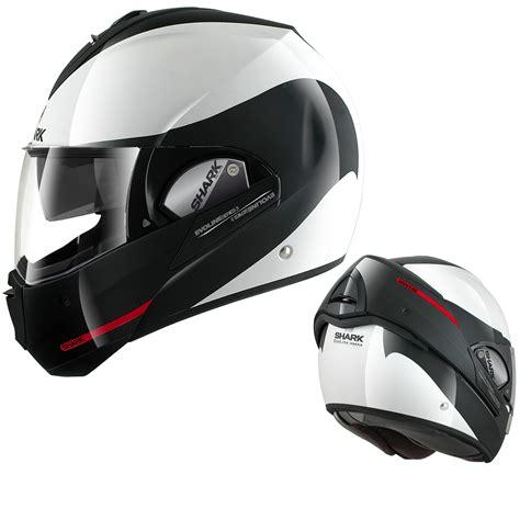 shark motocross helmets shark evoline series 3 st haka flip up front full open