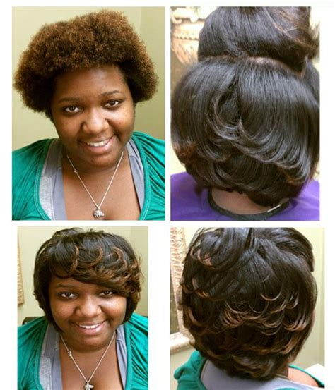 short pressed hairstyles natural hair natural and serum on pinterest