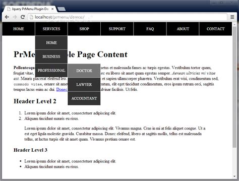 jquery printable version download source code jquery prmenu 1 0 0 blog emka