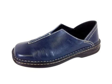 german comfort shoes josef seibel shoes leather blue comfort slip on casual
