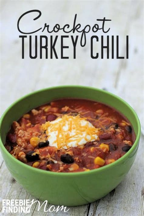 ground turkey recipes for crock pot easy crockpot turkey chili recipe