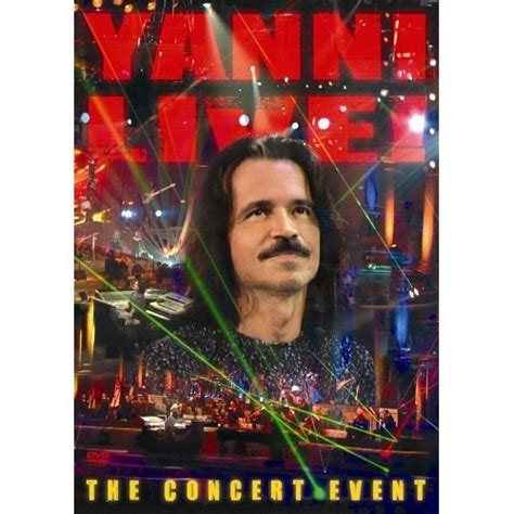 Cddvd Yanni The Concert check out these dvd s by yanni the color of