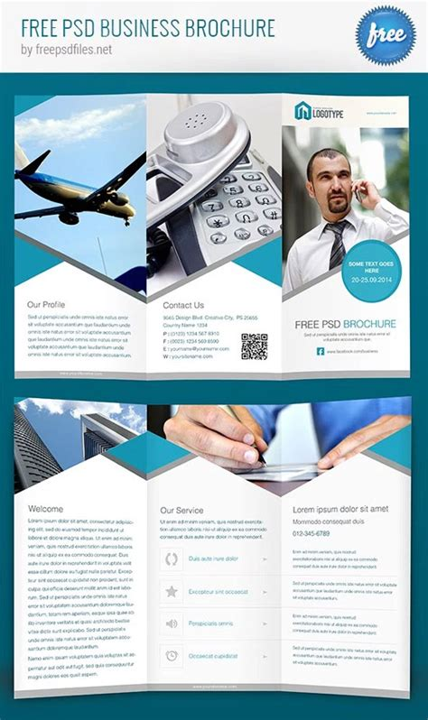 free photoshop brochure templates 12 of the best free brochure templates in photoshop psd