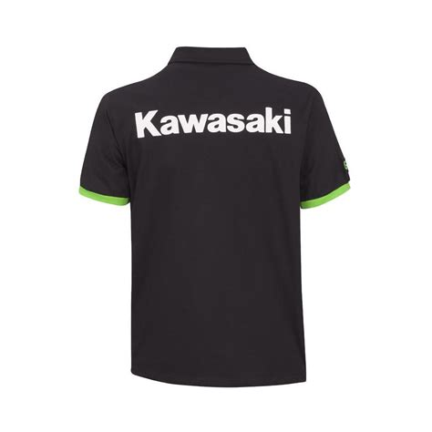 Polo Shirt Kawasaki Ori Cuci Gudang genuine kawasaki parts kawasaki s team green polo sleeve