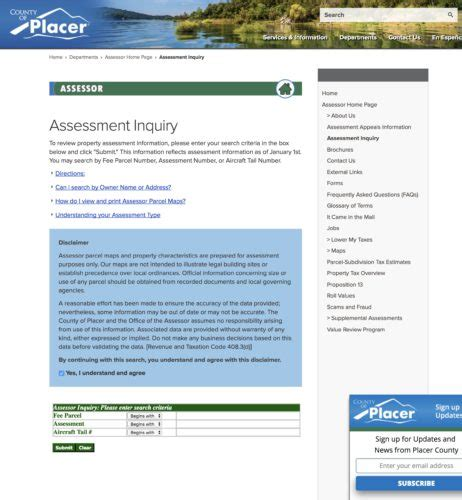 Placer County Property Records How To View A Property S Assessor Map In Placer County